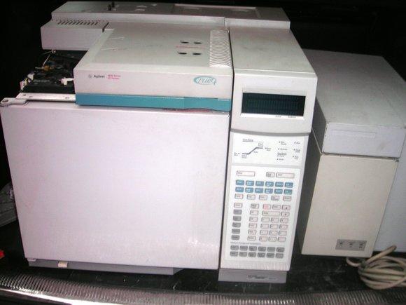 HP/Agilent GC 6890 plus mit FID