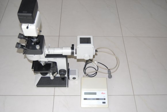 Leitz laborlux s fluorescence mikroskop