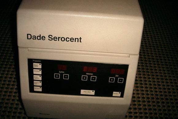 Zellwaschzentrifuge Serocent/Merz u. Dade 24 R