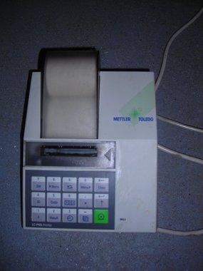 Messwertdrucker Mettler LC P 45
