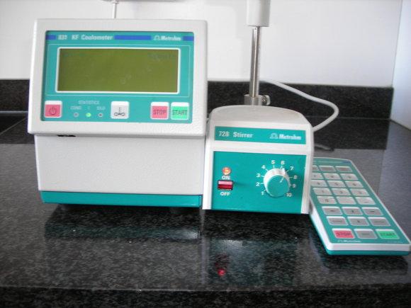Metrohm 831 KF Coulometer