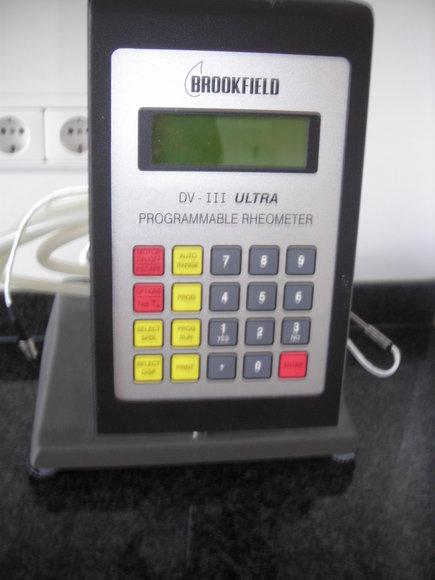 Brookfield DV III-Ultra Viskosimeter/Rheometer