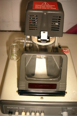 Melting Point Apparatus Buechi Model 512